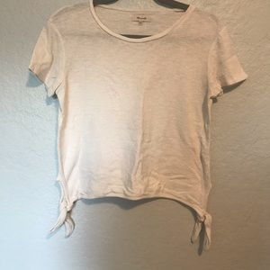 Madewell Tie Side Textured Top